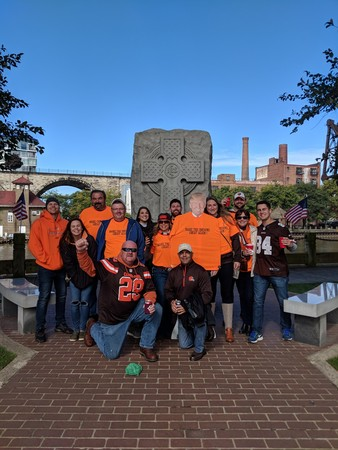 Browns Group Photp
